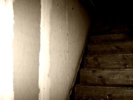 Attic Stairs by samaya-stock