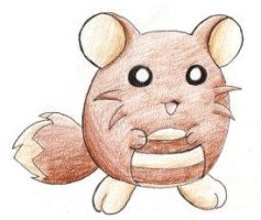 Fakemon: Baby Sentret by Tyltalis