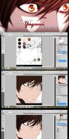 Yagami Light Step by Step by naruble