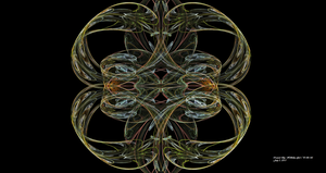 July 3, 2013 Fractal Abstract by Hillbillygirl