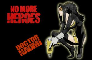Doctor Naomi No more Heroes by Oddmachine