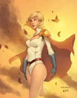 Powergirl by MBirkhofer