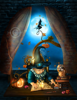 Halloween Story by JoeDiamondD
