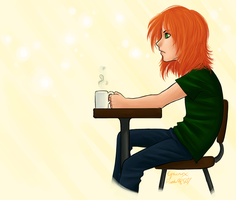 coffee and me by pichu4850