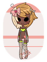 CLOSED: Candy Girl by TrickyAdopts