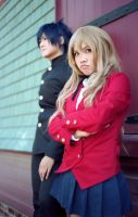 Toradora - The Dragon and The Tiger by Kurai-Hisaki