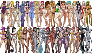 LoL Swimsuit Playmat 5.0 (10/12/2013 Update) by Roooommmmelllll