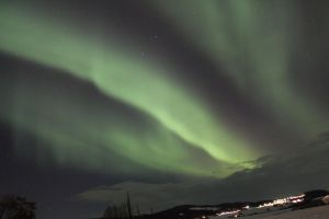 The Northern Lights XIV by Lizzimoa