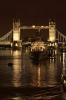 Clive RT - Tower Bridge night by Yerfdog5