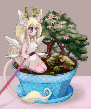 Potted Plant 02 by Cuney