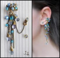 Earcuff Waterfall by JSjewelry