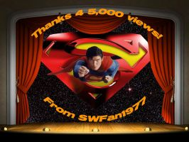 THANKS 4 5,000 VIEWS by SWFan1977