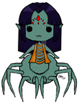Point Adopt: Spider Chick (closed) by TeiMari