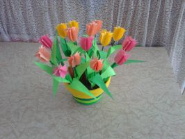 PAPER TULIPS by One-Winged-angel-5
