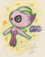 Shiny celebi by lossetta932