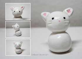 Clay Kitty by KelliBean