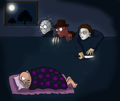 Nightmares of Adult People by Sapphiresenthiss