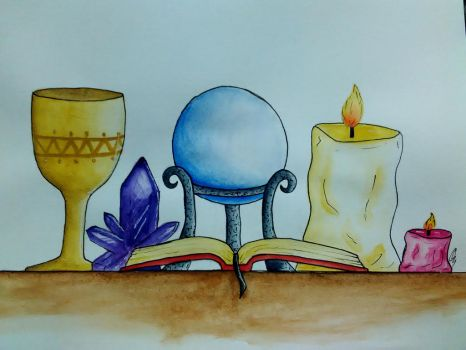 Witchy Art Challenge #2 by DrawsFromMyMind