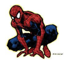 spidey 10 min sketch by BChing