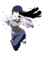 Kick-ass Hinata by passionatepremise