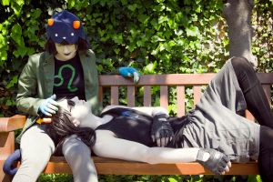 Peacefulness [Equius and Nepeta] by Mitsuki-Aizawa
