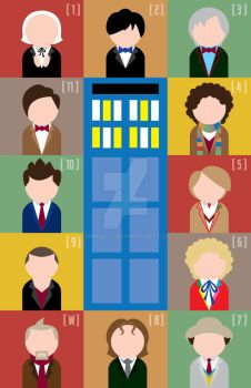 The Twelve Doctors by MBrazee
