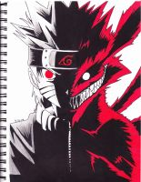 naruto/9 tails by Yami-The-Orca