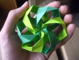 Origami Seeds of Wind by musicmixer112