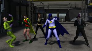 Return of the Caped Crusaders by kevmann