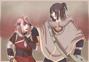 SasuSaku (again) by AkemiiN