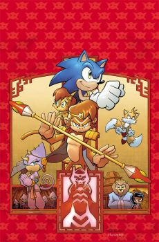 Sonic Universe 16 cover by Yardley