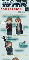 Mass Effect Comparison Meme by AustraliumSiren