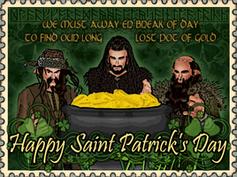 To Find Our Long Lost Pot Of Gold - The Hobbit by Faerietopia