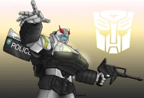Beamers G1 Prowl Coloured by liquid-venom
