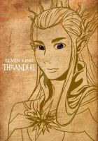 Thranduil The Elven King by cloudstrifejen