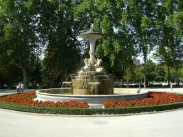 Flowery fountain by Emystick-stocks