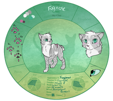 {TDE} Fognose | SkyClan by Vinscribbles