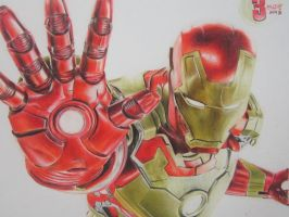 Iron Man by lolbenjo