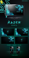 RAZER WallpaperSet HD by SykoraLukas