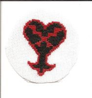 Heartless Emblem Stitch by Sew-Madd
