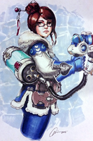 Mei - Overwatch by G21MM