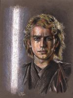 Anakin Skywalker portrait by barbaramj