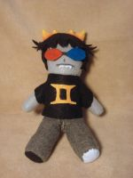 Sollux plush 2 by VanilleB
