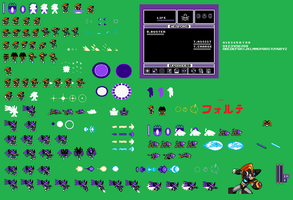 Custom Bass Sprite Sheet by Availation