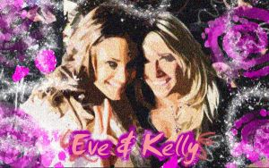 Eve and Kelly Wallpaper 1 by Jinnxx