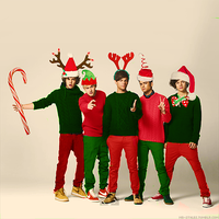 1D christmas by sonicfan141414