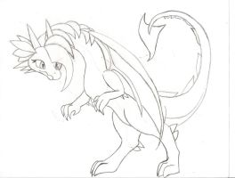 crystal the dragon when shes older by Ponyness1