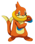 50 Pokemon #18-Buizel by MegBeth