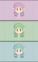 Cute Fairy Princess Designs by TheCatlady