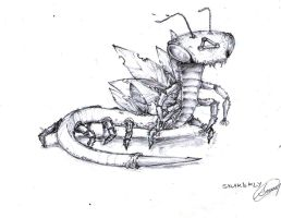 GX Alien Series 1 Re-design: Snakefly by Fives555